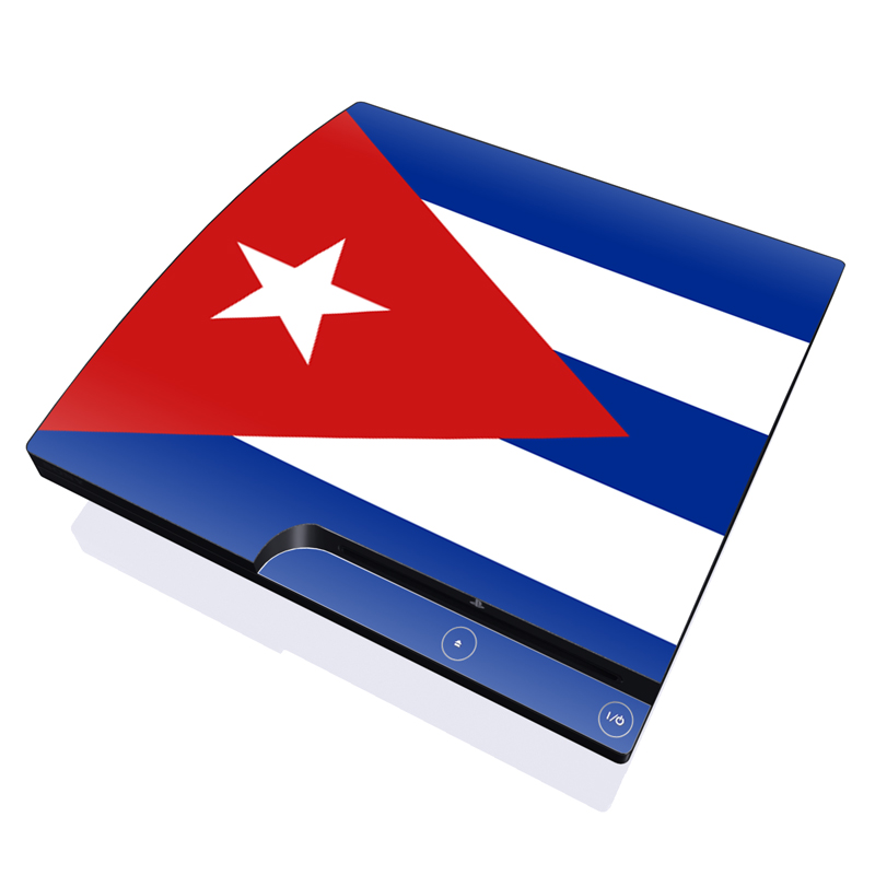 Cuban Flag PlayStation 3 Slim Skin