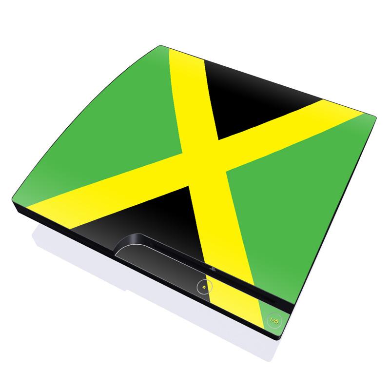 Jamaican Flag PlayStation 3 Slim Skin
