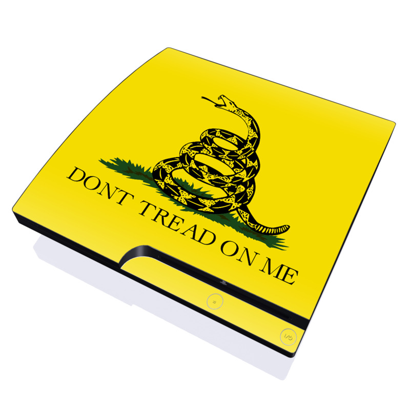 Gadsden Flag PlayStation 3 Slim Skin