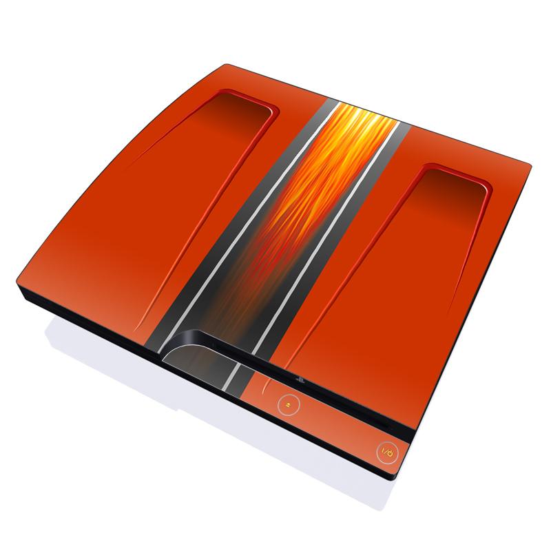 Hot Rod PlayStation 3 Slim Skin