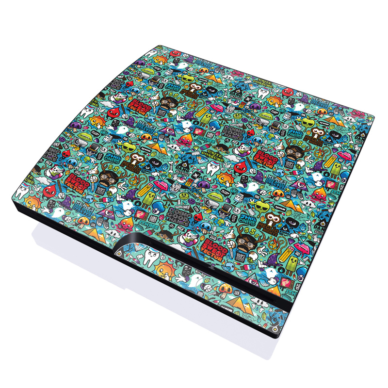 Jewel Thief PlayStation 3 Slim Skin