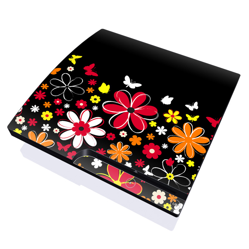 Laurie's Garden PlayStation 3 Slim Skin