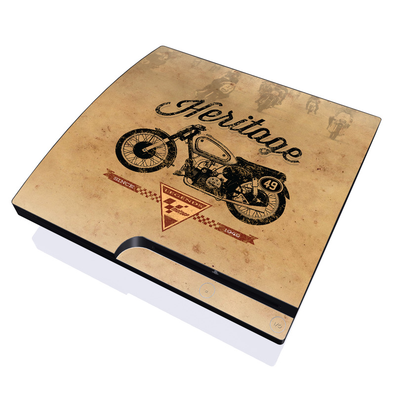 MotoGP Heritage PlayStation 3 Slim Skin