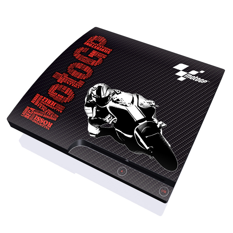 MotoGP PlayStation 3 Slim Skin