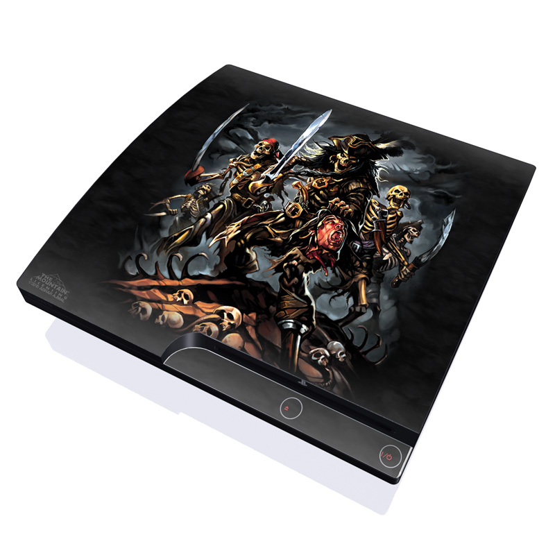Pirates Curse PlayStation 3 Slim Skin