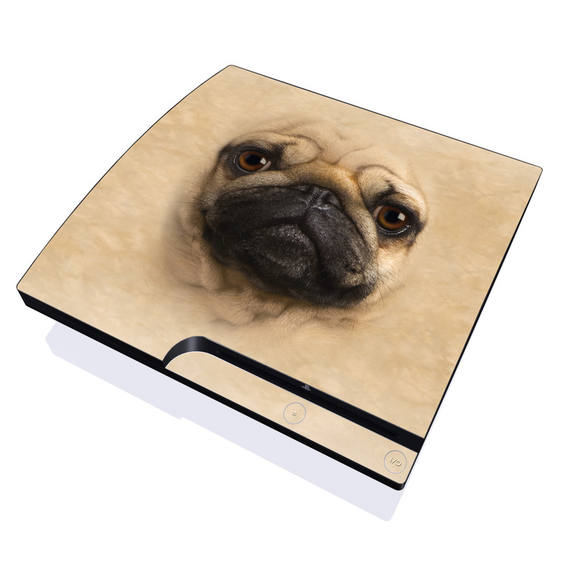Pug PlayStation 3 Slim Skin