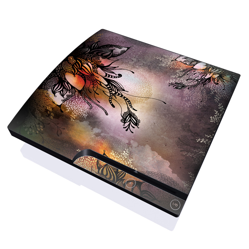 Purple Rain PlayStation 3 Slim Skin