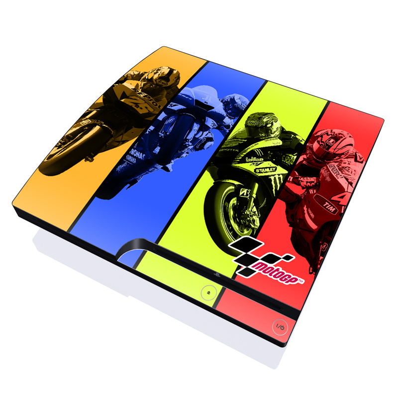 Race Panels PlayStation 3 Slim Skin