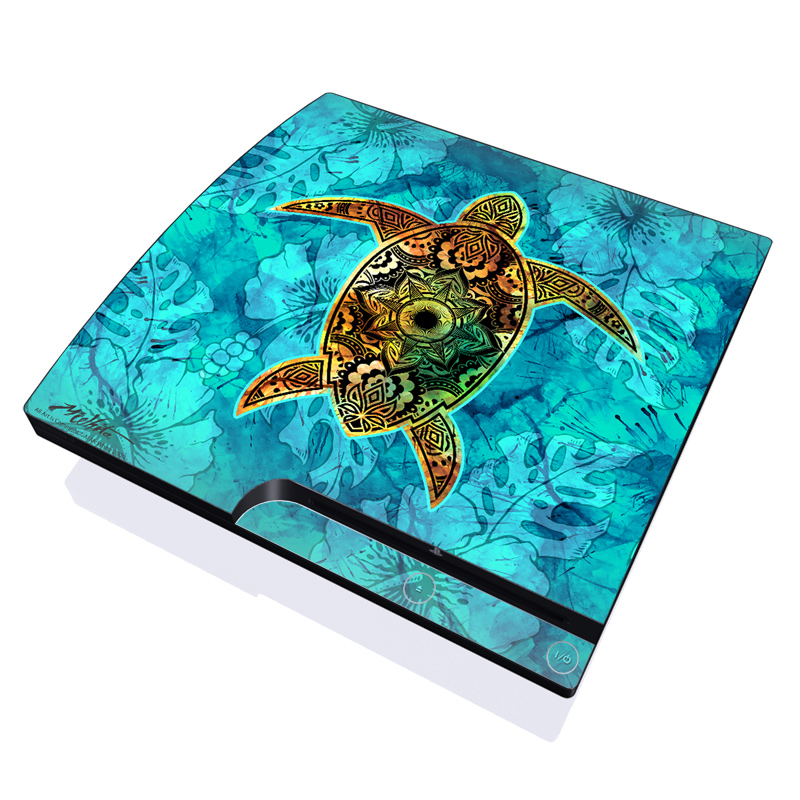 Sacred Honu PlayStation 3 Slim Skin