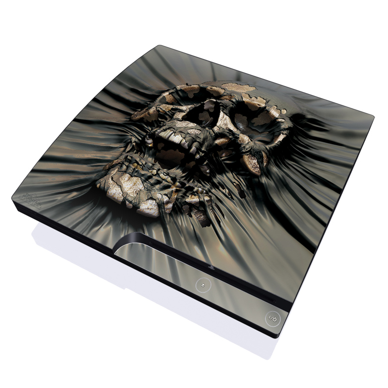 Skull Wrap PlayStation 3 Slim Skin