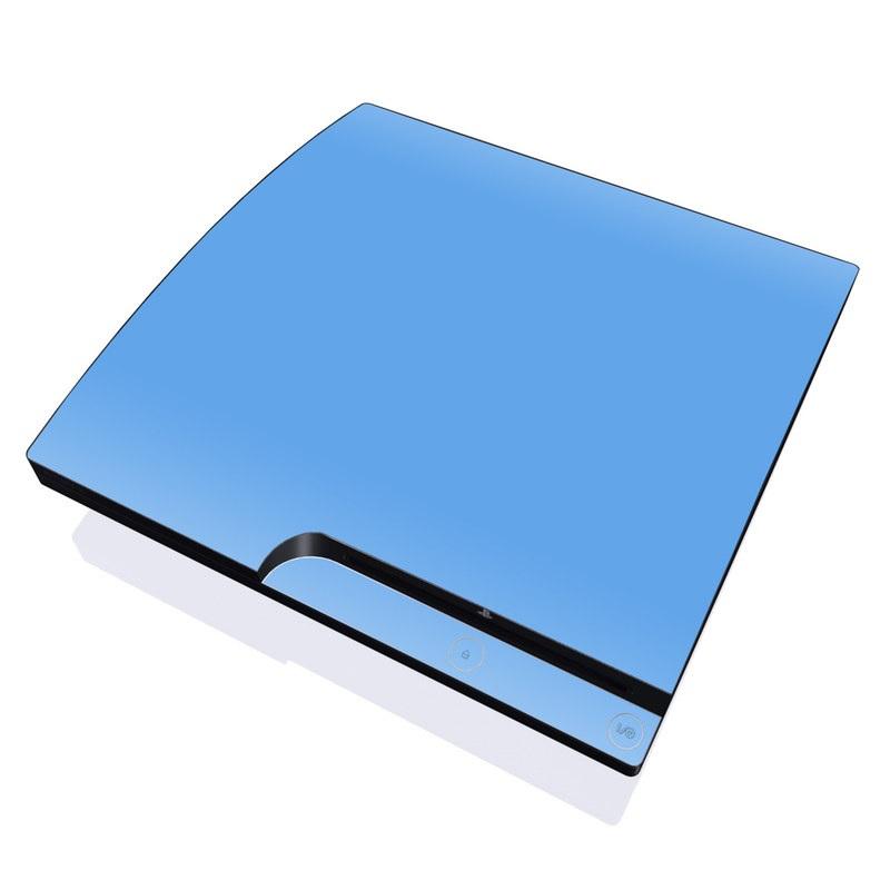 Solid State Blue PlayStation 3 Slim Skin