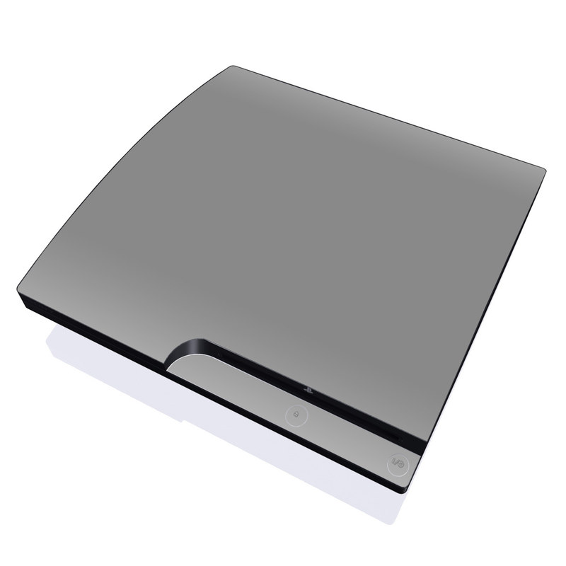Solid State Grey PlayStation 3 Slim Skin