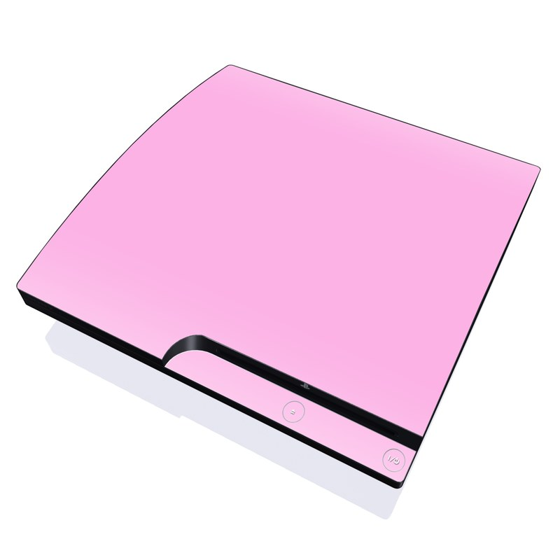 Solid State Pink PlayStation 3 Slim Skin