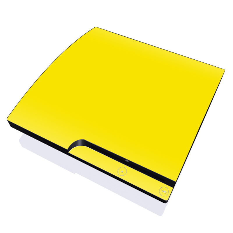 Solid State Yellow PlayStation 3 Slim Skin