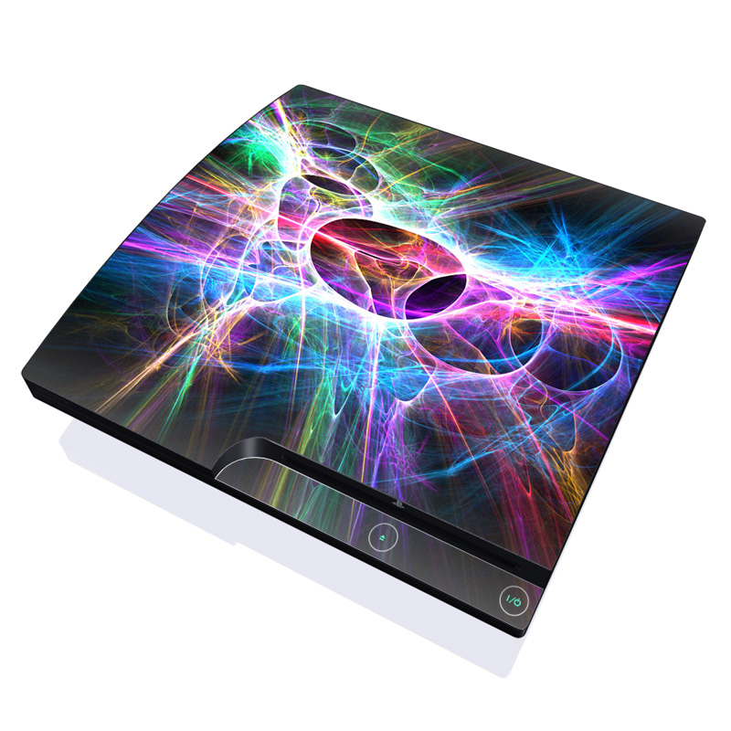 Static Discharge PlayStation 3 Slim Skin