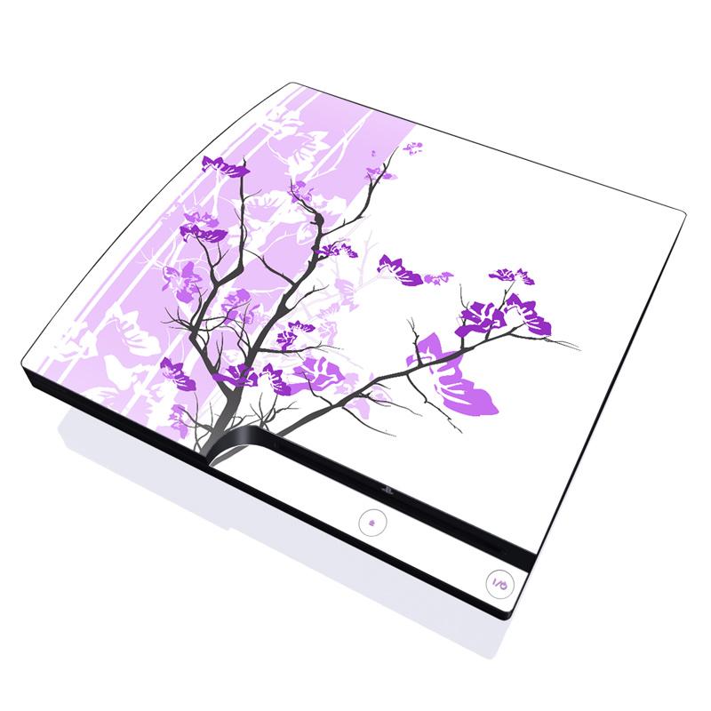 Violet Tranquility PlayStation 3 Slim Skin