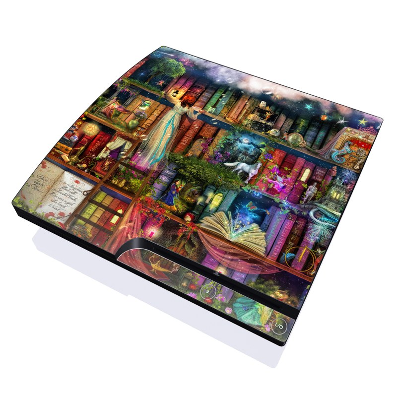 Treasure Hunt PlayStation 3 Slim Skin