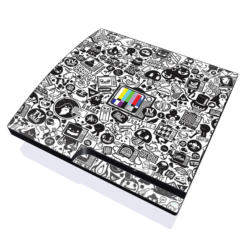 TV Kills Everything PlayStation 3 Slim Skin