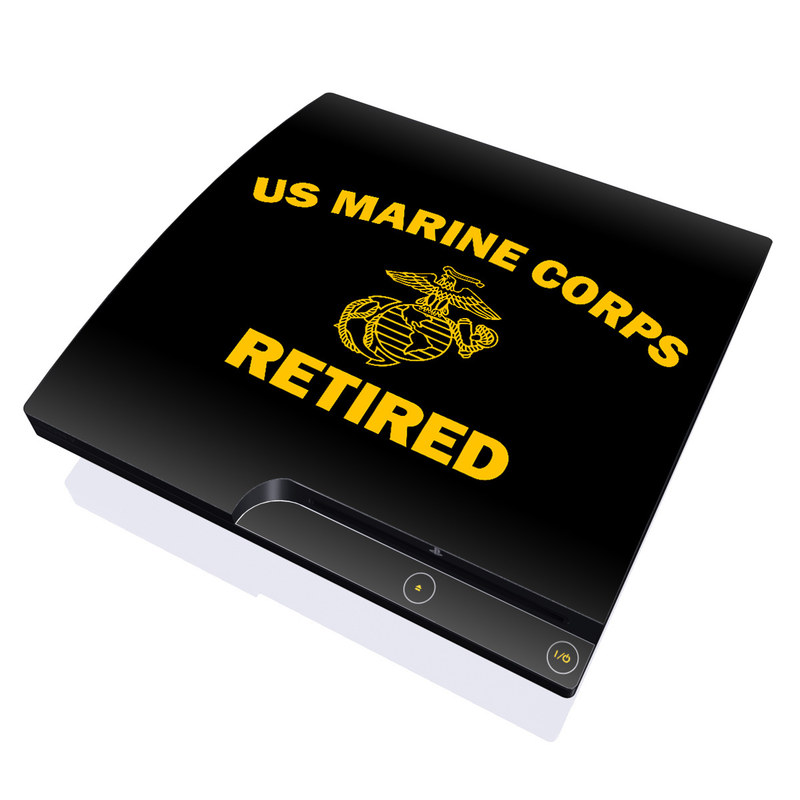 USMC Retired PlayStation 3 Slim Skin