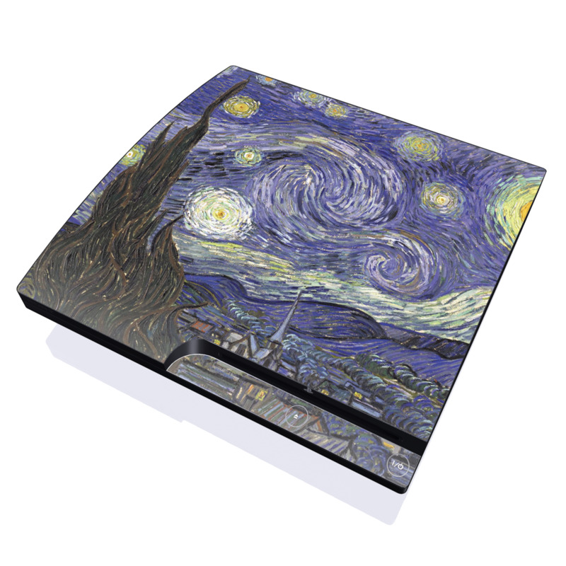 Starry Night PlayStation 3 Slim Skin
