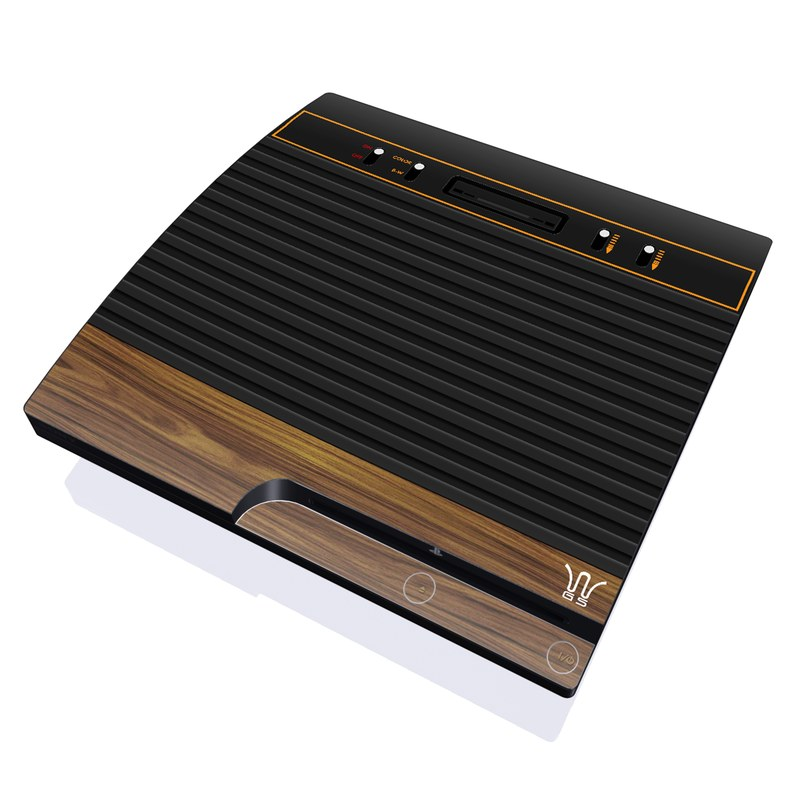 Wooden Gaming System PlayStation 3 Slim Skin
