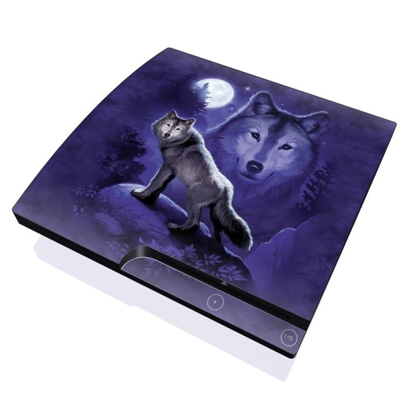 Wolf PlayStation 3 Slim Skin