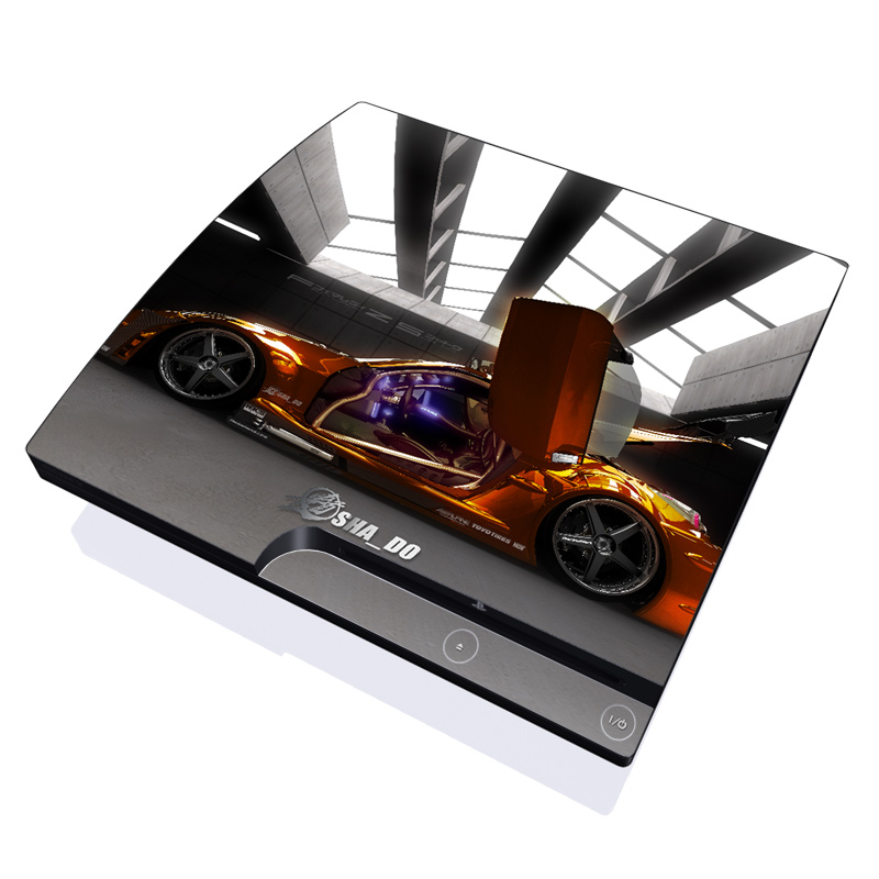 Z33 Light PlayStation 3 Slim Skin