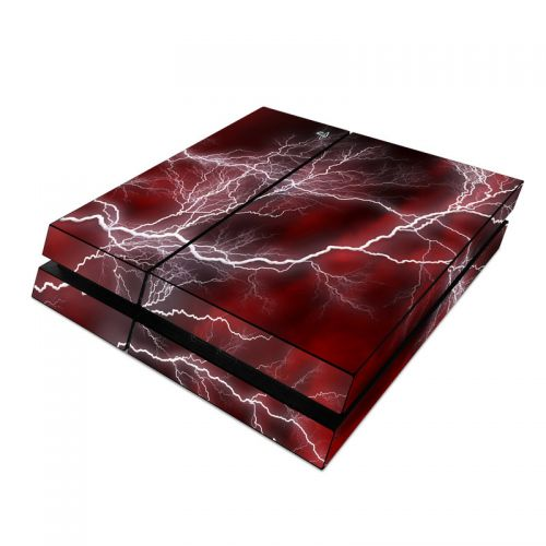 Apocalypse Red PlayStation 4 Skin