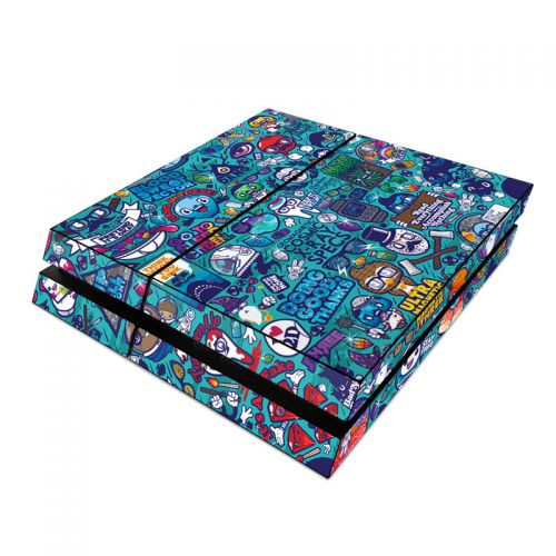 Cosmic Ray PlayStation 4 Skin