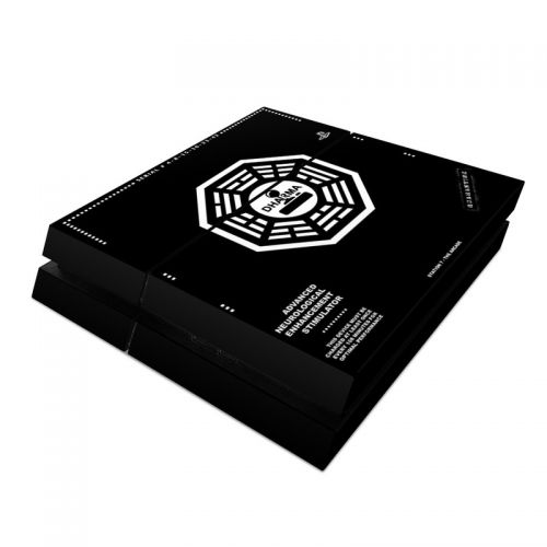 Dharma Black PlayStation 4 Skin