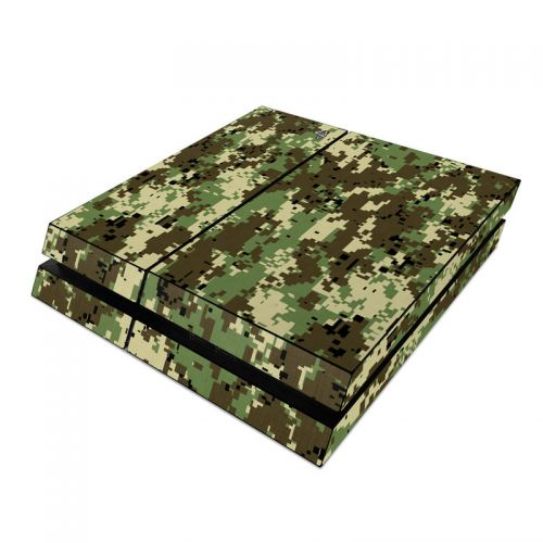 Digital Woodland Camo PlayStation 4 Skin
