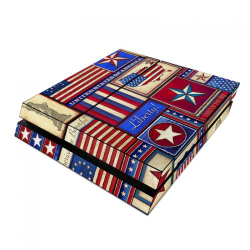 Flag Patchwork PlayStation 4 Skin