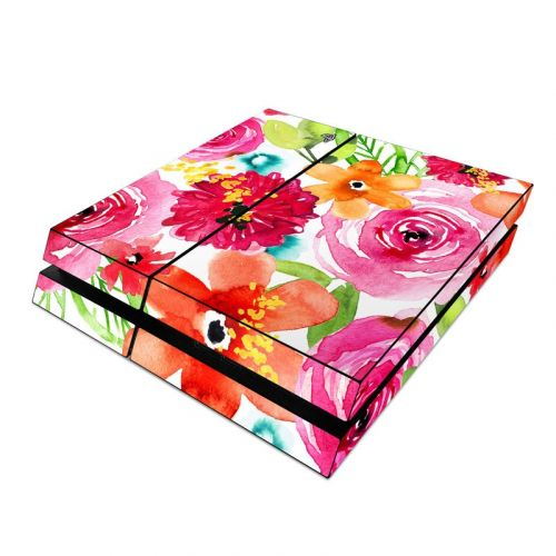 Floral Pop PlayStation 4 Skin