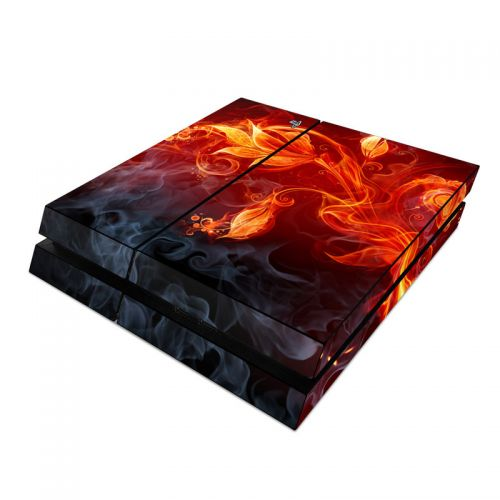 Flower Of Fire PlayStation 4 Skin
