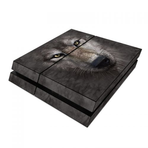 Grey Wolf PlayStation 4 Skin