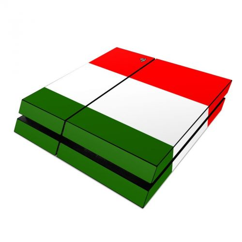 Italian Flag PlayStation 4 Skin