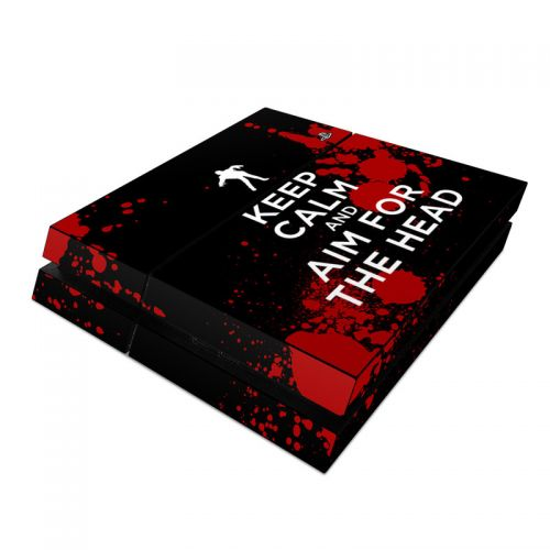 Keep Calm - Zombie PlayStation 4 Skin