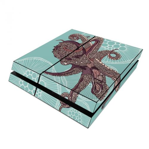 Octopus Bloom PlayStation 4 Skin