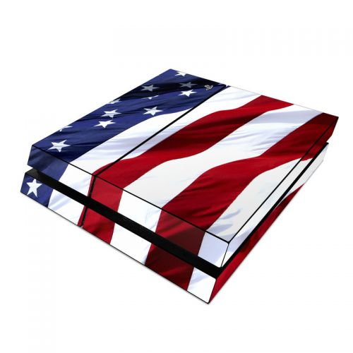 Patriotic PlayStation 4 Skin