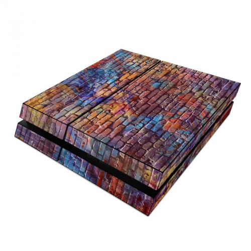 Painted Brick PlayStation 4 Skin