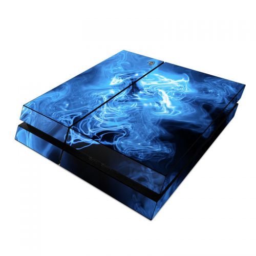 Blue Quantum Waves PlayStation 4 Skin