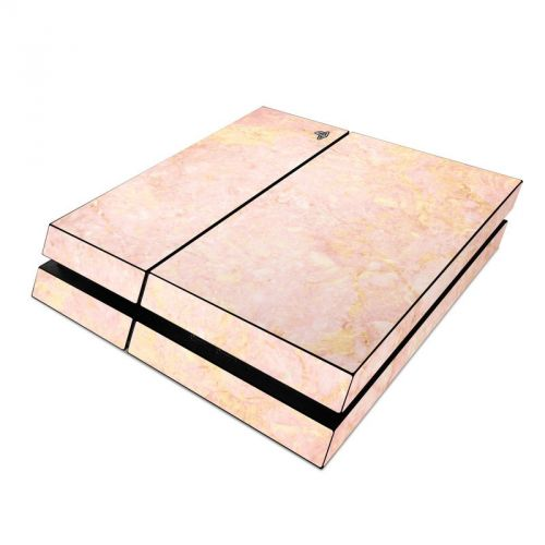 Rose Gold Marble PlayStation 4 Skin