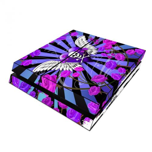 Skull & Roses Purple PlayStation 4 Skin