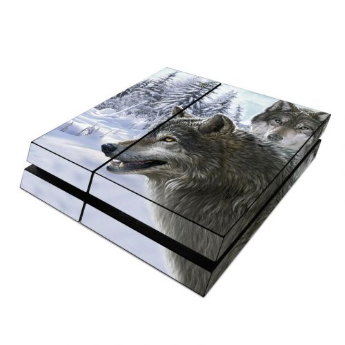 Snow Wolves PlayStation 4 Skin
