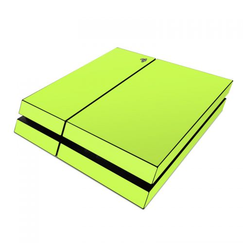 Solid State Lime PlayStation 4 Skin