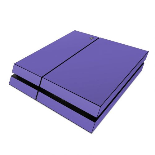 Solid State Purple PlayStation 4 Skin