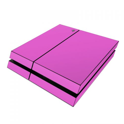 Solid State Vibrant Pink PlayStation 4 Skin