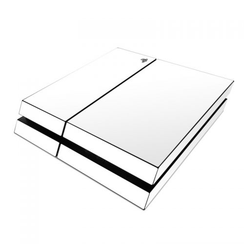 Solid State White PlayStation 4 Skin