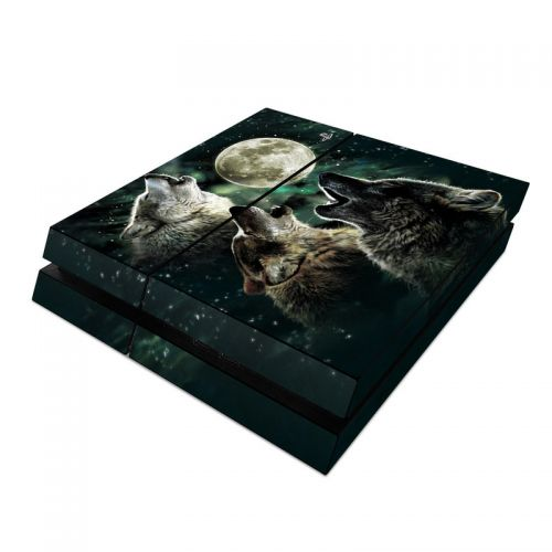 Three Wolf Moon PlayStation 4 Skin