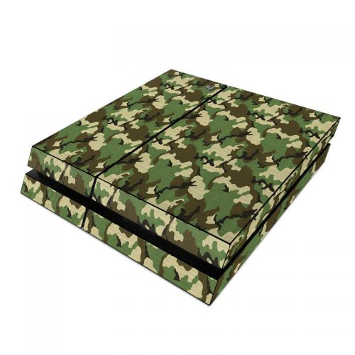 Woodland Camo PlayStation 4 Skin
